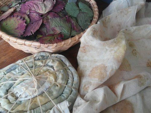 Ecoprinten op stof en papier