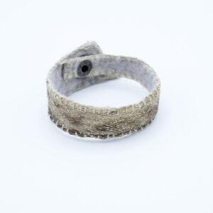 Armband visleer zeewolf