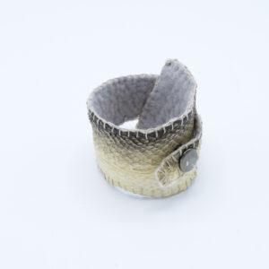 armband van zalmleer