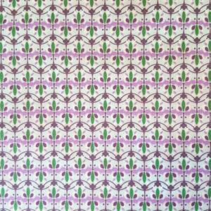 Bijenwasdoek groen paars
